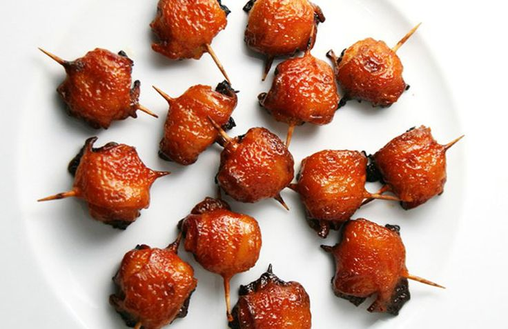 "One of my favorite appetizers is bacon wrapped water chestnuts.  There is something about bacon and the crunchiness of water chestnuts – that when they come together is like a ""party in…"
