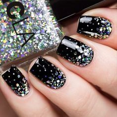 LOVE black and sparkle!