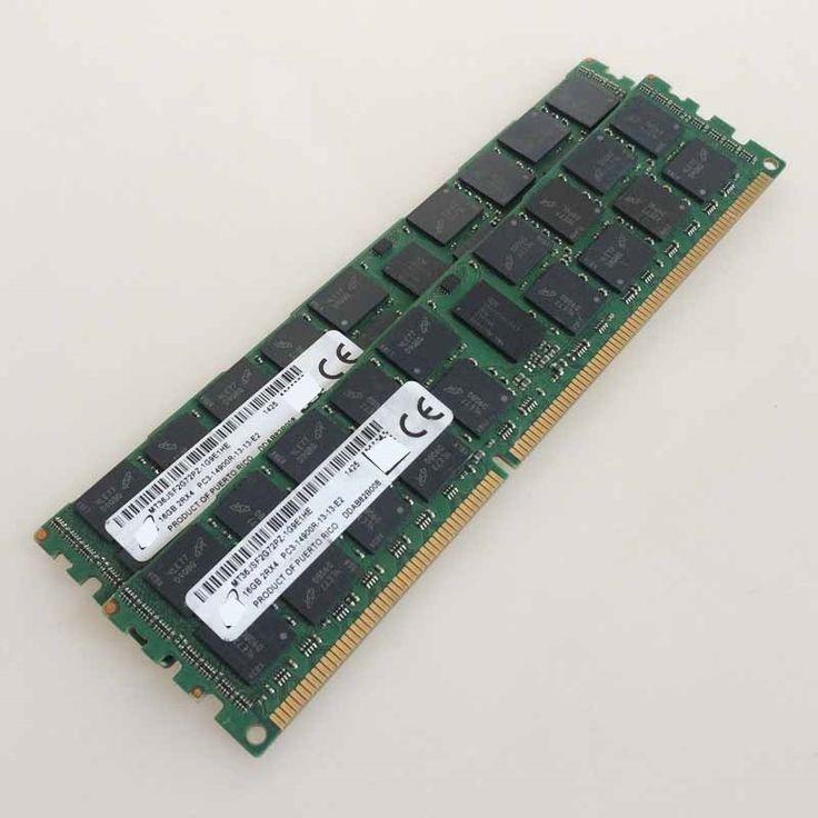 319.96$  Buy now - http://alirbn.worldwells.pw/go.php?t=32779939407 - 2x16GB PC3-14900R DDR3 1866mhz ECC Memory REG Registered 240-pin RAM 2RX4 server memory