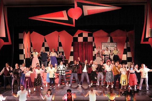 Grease Stage Backdrops Google Search Play Sets Amp Ideas