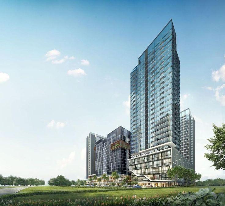 Batam | Oxley Convention City | Superblok | Mall, Apartement, Hotel, Office, Shop House | 5 Tower | 4 x 30 Floors, 1 x 20 Floors - SkyscraperCity