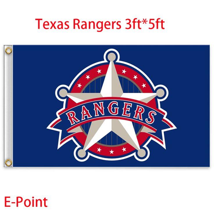 Техасские рейнджеры сша высшей лиги бейсбола ( MLB ) флаг 3ft * футов