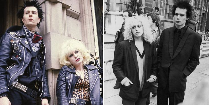 Gary Oldman And Chloe Webb As Sid Vicious And His Girlfriend Nancy Spungen In Sid And Nancy (1986)