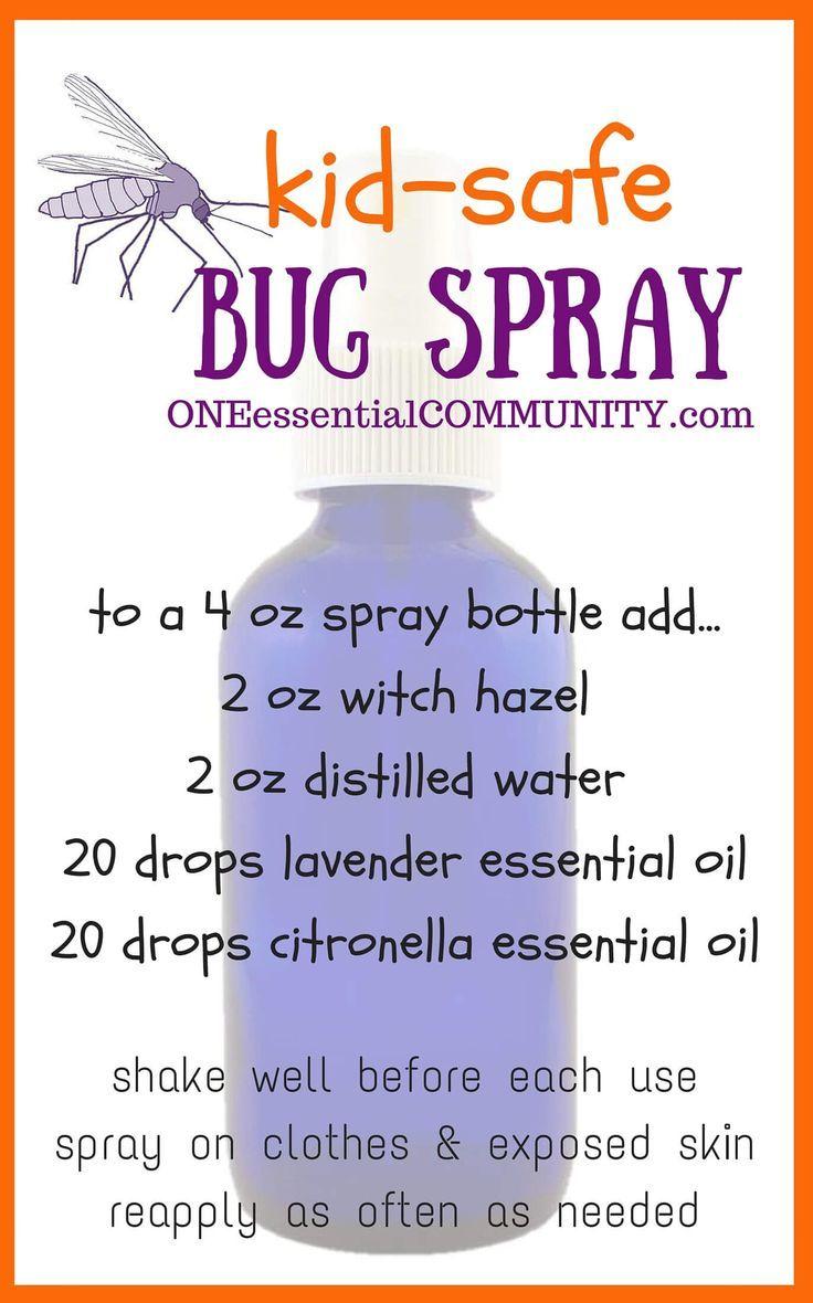 15 Best Doterra Bug Off Pest Spray Recipes Images On
