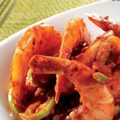 Crevettes à  la Créole très piquantes- Recette de cuisine - Seb