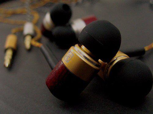 【所有】HOUSE USE PRODUCTS WOOD EARPHONE GOLD HFT083 ¥1,890