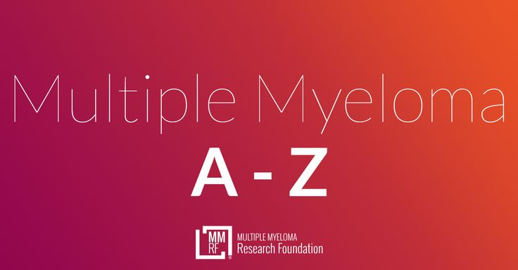 The multiple myeloma glossary provides definitions of myleoma-related terms. Get information on over 300 myeloma terms at the Multiple Myeloma Research Foundation.