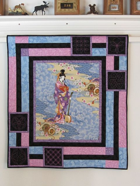 1000 Images About Quilts Using Panels On Pinterest
