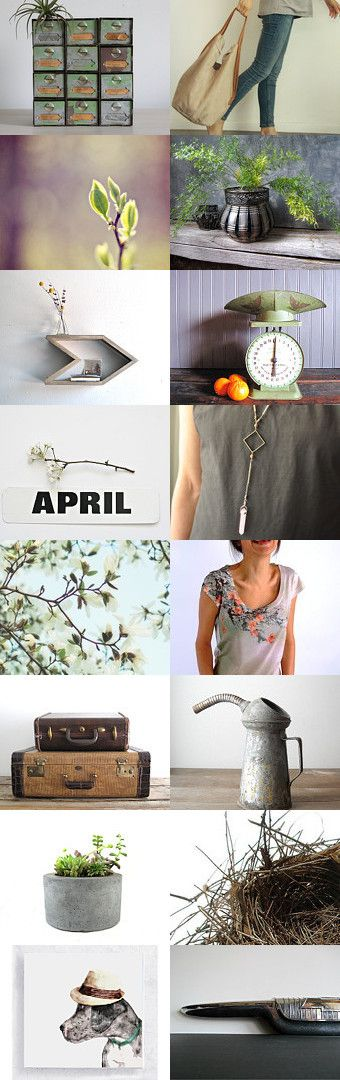 hello april by gazaboo on Etsy--Pinned with TreasuryPin.com featured at approx 12:00am EST Sunday April 6 2014 on Etsy Front Page