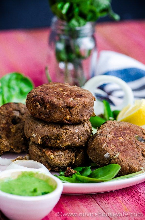 Shami Kebabs: Lamb kebabs with mint onion stuffing - The Novice Housewife