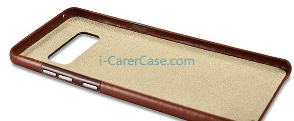 iCarer Samsung Galaxy Note 8 Vintage Genuine Leather Cover Case