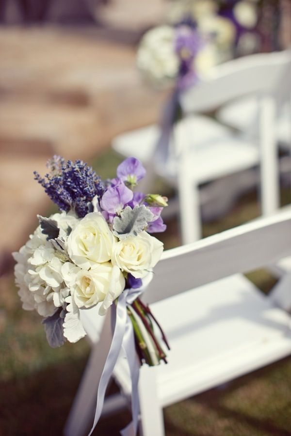 Lavender, rose & hydrangea bouquet