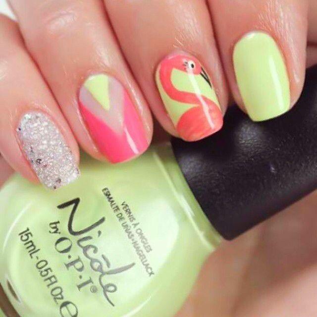48 mejores imágenes de ::: flamingo ::: en Pinterest | Uñas de ...