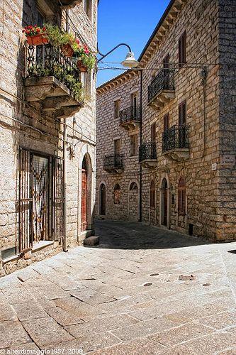 Tempio Pausania, Sardinia, Italy