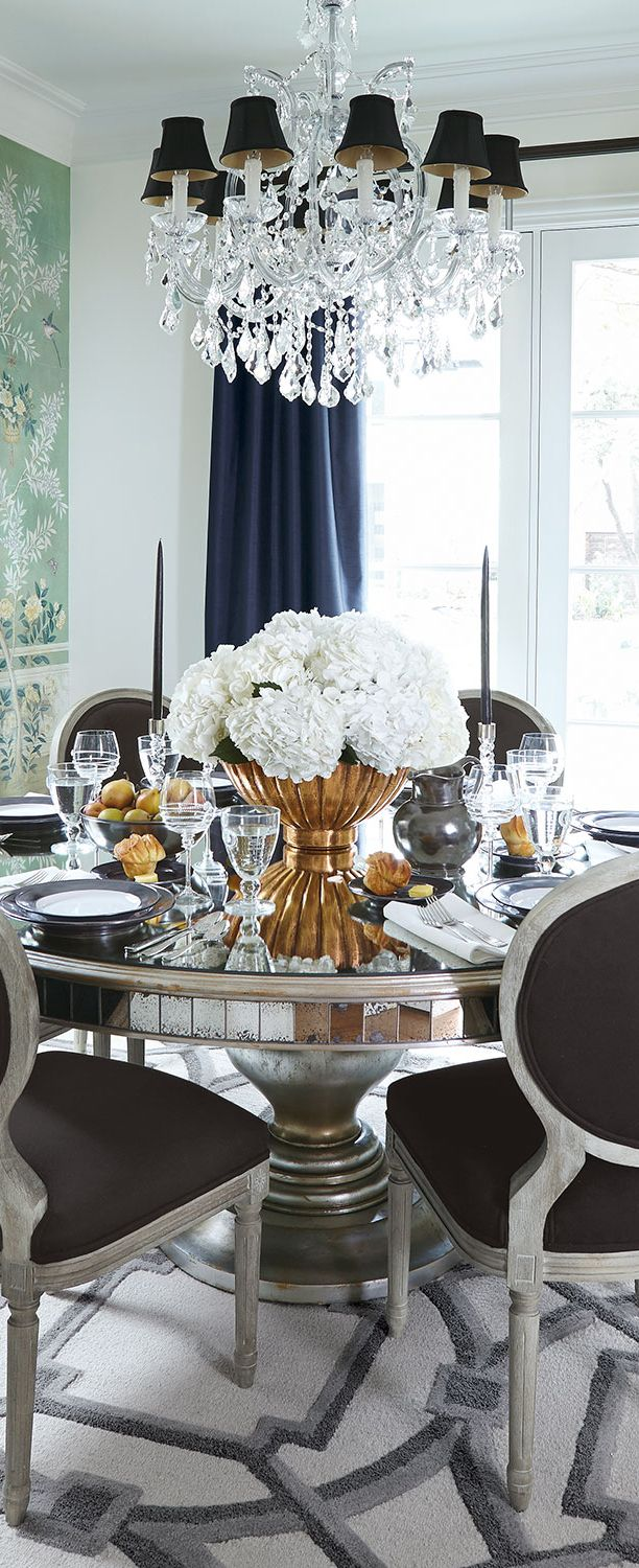 Best 25 Luxury Dining Room Ideas On Pinterest Luxury