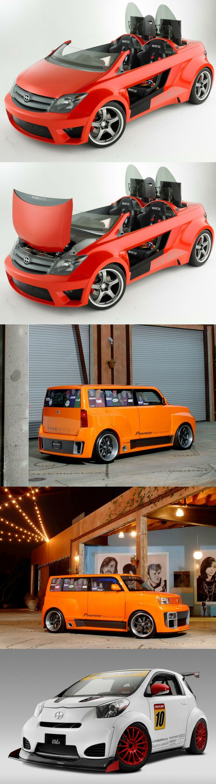 Scion 5 Axis Widebody · Scion Xb