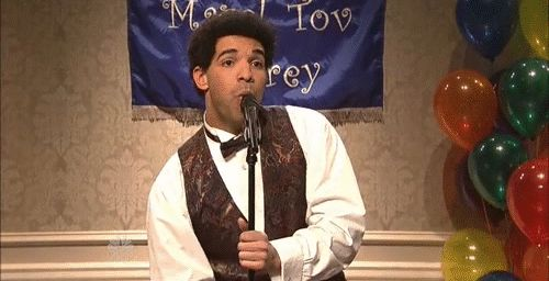 """When he got re-re-bar mitzvahed and it was basically everything we ever wanted. 