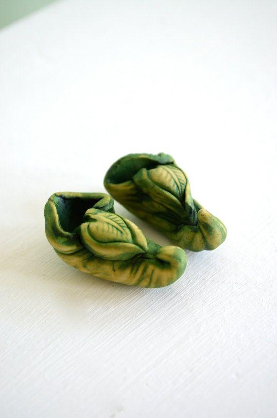 Fairy shoes, Leprechaun shoes, Elf shoes, Garden gnome shoes