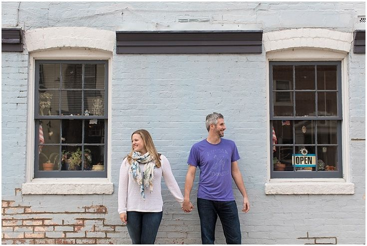 Old Town Alexandria Engagement Photography. Laura's Focus Photography.