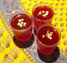 Homemade elderflower and raspberry jellies recipe