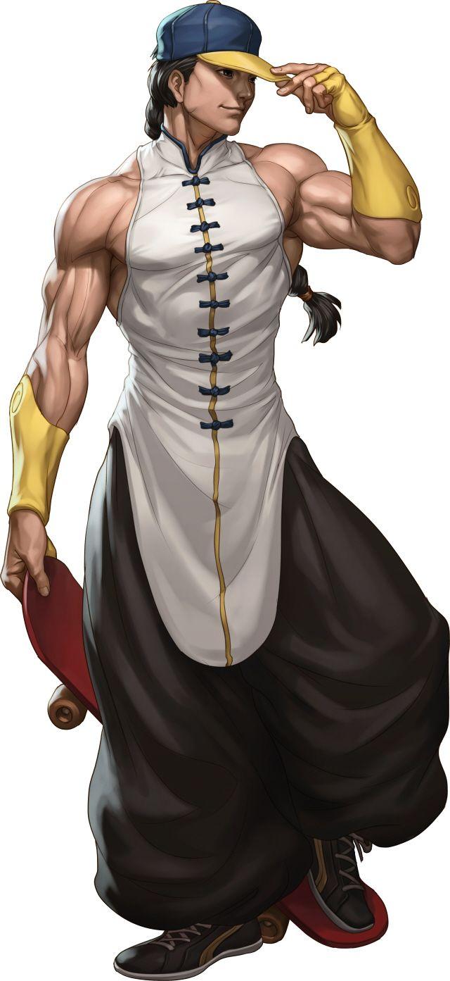 Street Fighter 3 Online Edition Yun Characters List Artwork (videogamesblogger, 01/17)