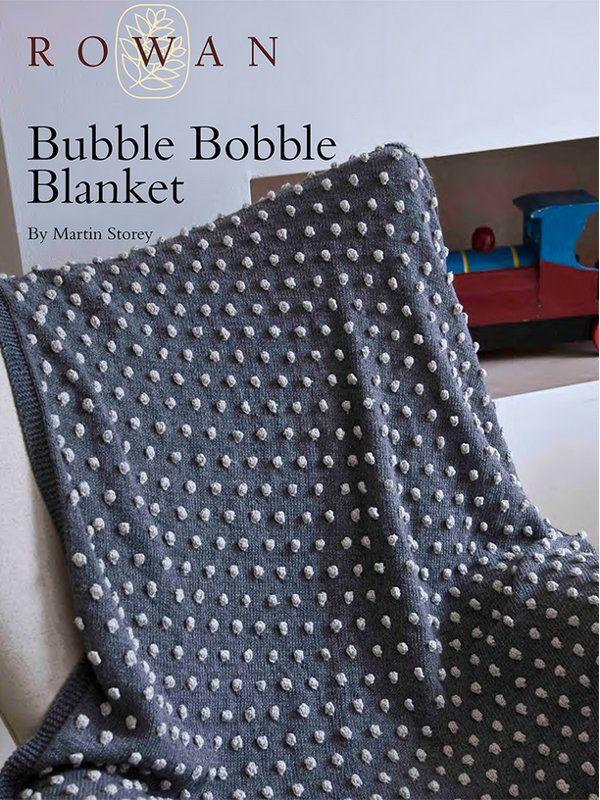 Bubble Bobble Blanket by Martin Storey in Rowan Wool Cotton 4 Ply (http://www.mcadirect.com/shop/rowan-wool-cotton-ply-p-4573.html)