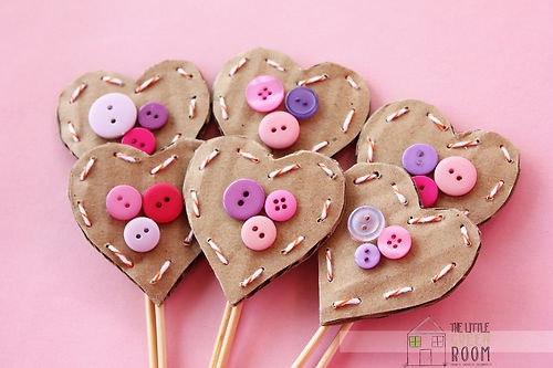 "Set Of 6 Giggle And Hoot "" Hootabelle Heart "" Birthday Cupcake Toppers"
