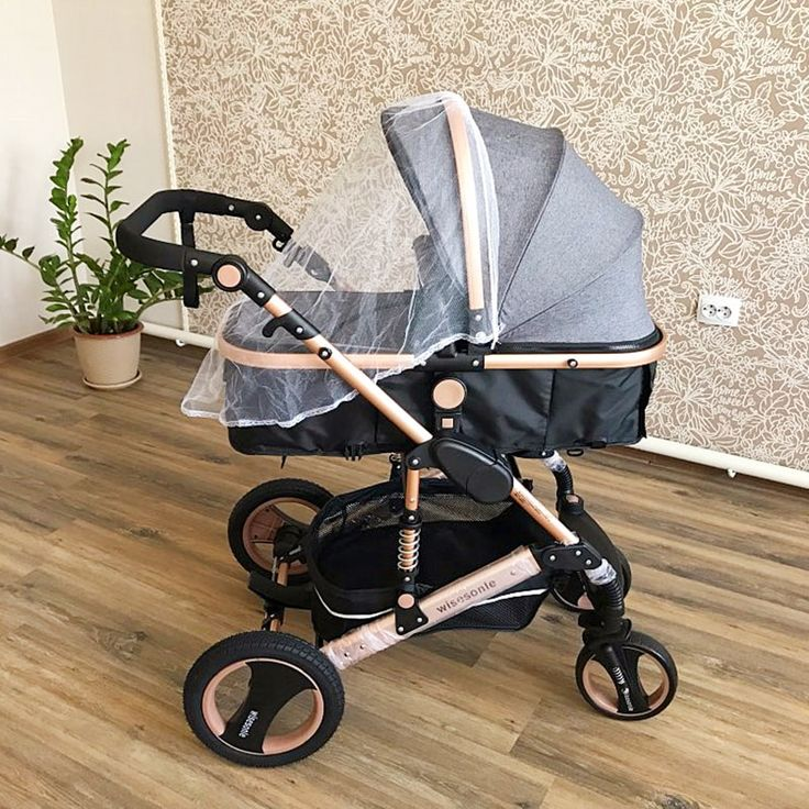 Baby Strolle Multifunctional 3 in 1 Baby Stroller High