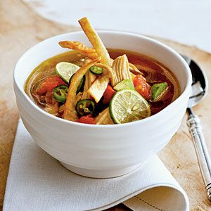 Terrific Soups and Stews | Yucatecan Chicken-and-Lime Soup | CoastalLiving.com