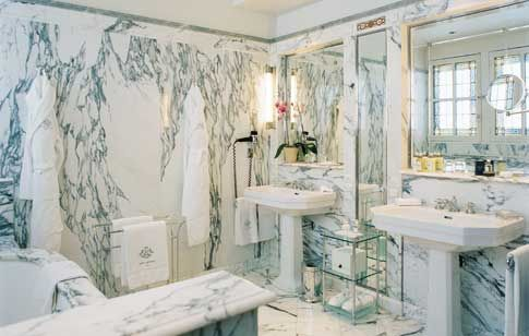 Bathroom, Le Meurice Hotel, #Paris by Travel Intelligence, via Flickr