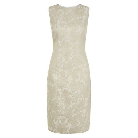 Buy Hobbs Faye Dress, Ivory Multi Online at johnlewis.com