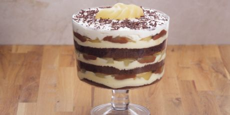 Double Chocolate Pear Trifle