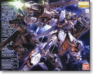 Duel Gundam Assault Shroud (MG) (Gundam Model Kits)