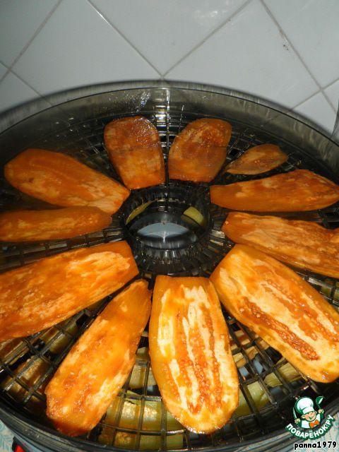 Вяленые баклажаны в маринаде ингредиенты