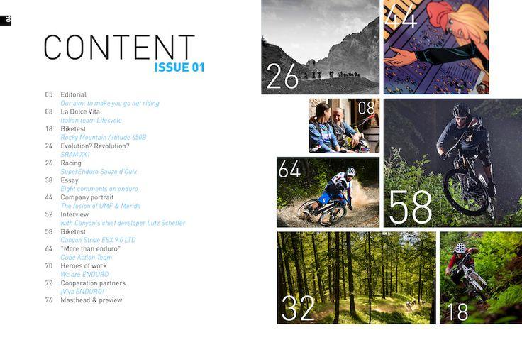 Enduro Mountainbike Magazine: 001