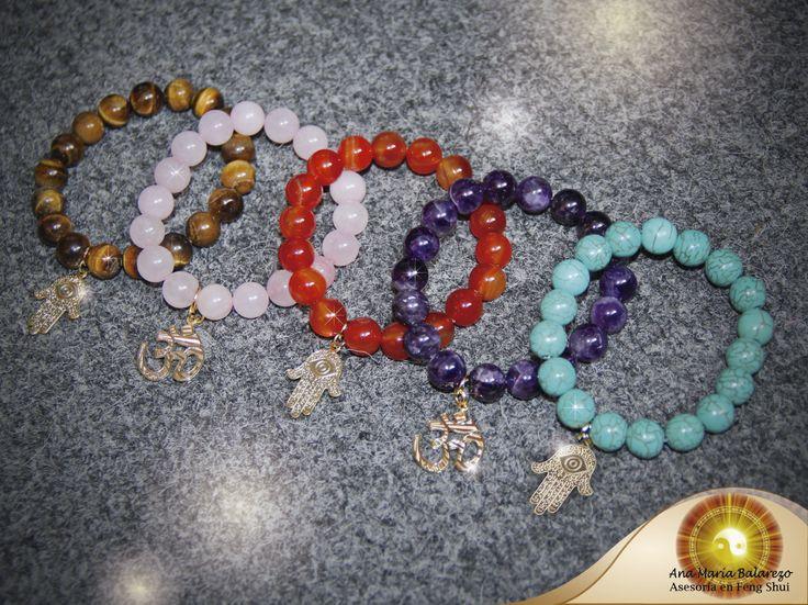 Preciosas pulseras de cuarzos y piedras naturales todas - Propiedades piedras naturales ...