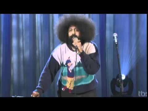 Greatest performance on Conan...ever.  REGGIE WATTS