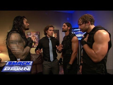 The Shield takes out Brad Maddox: SmackDown, April 25, 2014