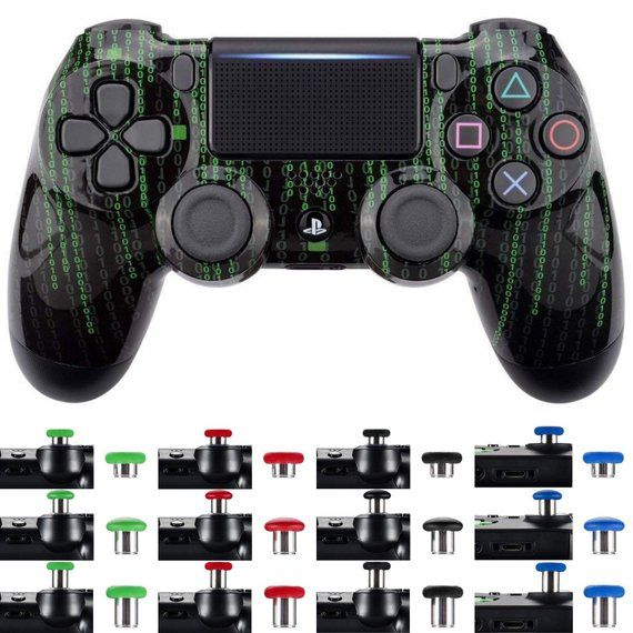 PlayStation 4 Controller - Binary Custom Shell +