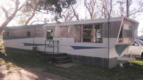 1958 victor mid century mobile home with time capsule interior time capsule and mid century - Mid century mobel ...