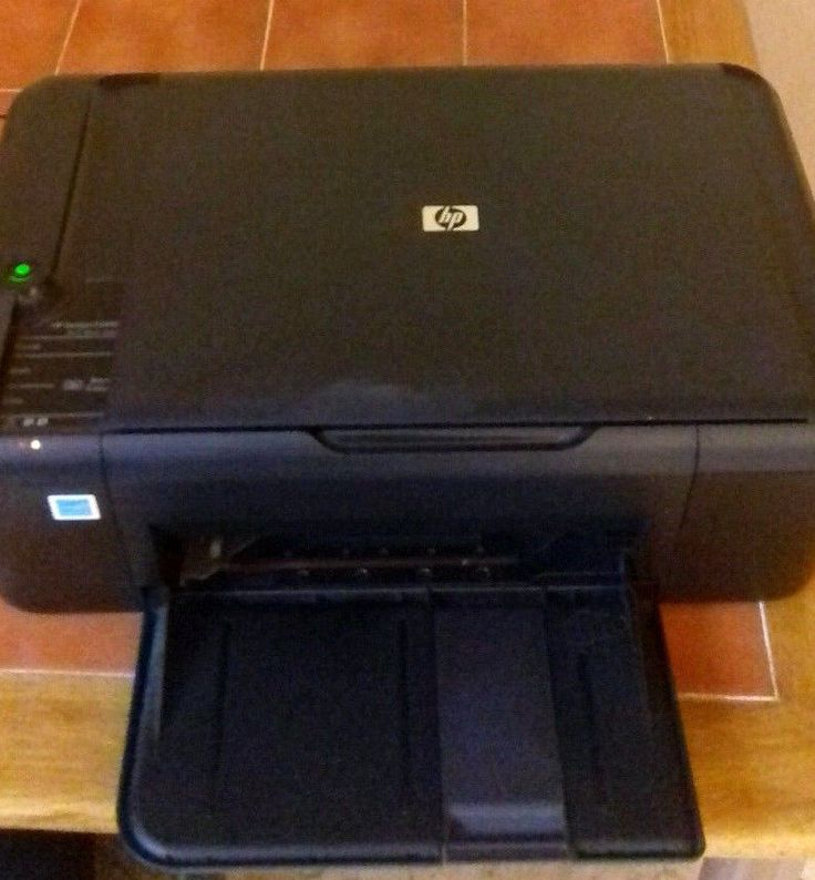 HP Deskjet F2480 Printer, Scanner, Copier - Repair or Spares #HP