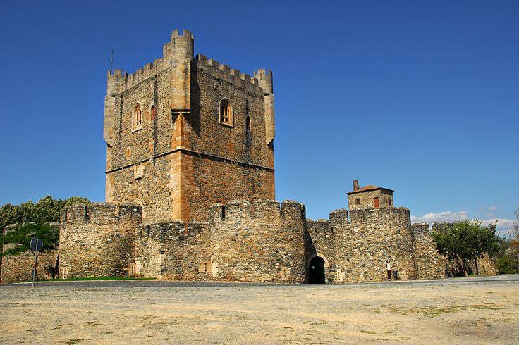 Braganca Castle, Braganca, Portugal