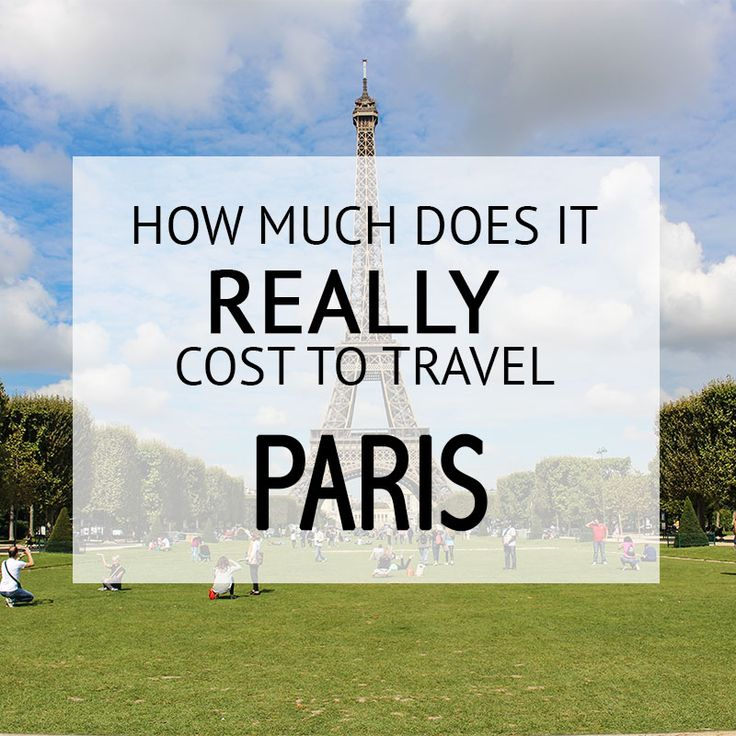 How Much Did It Cost - #Paris Budget