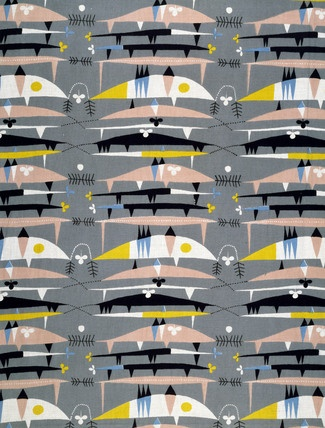 Raimoult furnishing fabric, by Robert Stewart