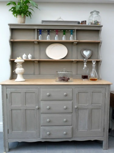 Stunning Solid Oak Ercol French Shabby Chic Dresser Sideboard Lovely Condition Dining Room BarDining