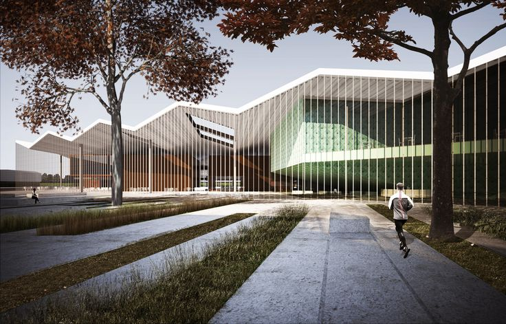 Inter National Design Win Competition with Modular School Complex