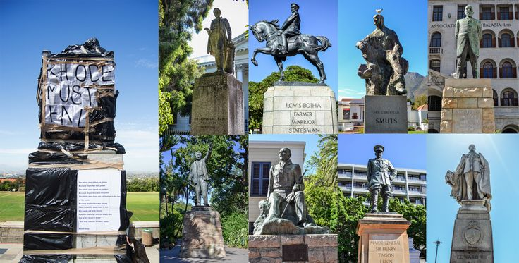 """""""7 more statues from our colonial past we found in Cape Town"""" Sabelo Mkhabela - 27 March 2015"""