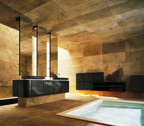 Έπιπλο Μπάνιου Λακαριστό Μαύρο www.koligas.gr