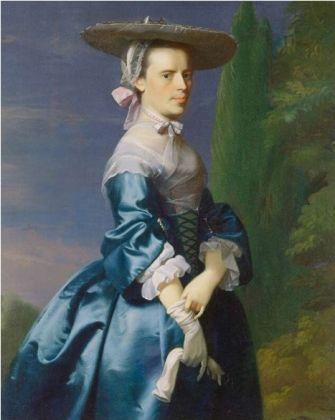 Sarah Allen, nee Sargent, ca. 1763 (John Singleton Copley) (1738-1815) Minneapolis Institute of the Arts, MN