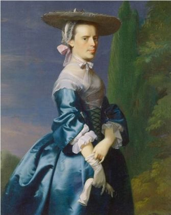 Sarah Allen, nee Sargent, ca. 1763 (John Singleton Copley) (1738-1815) Minneapolis Institute of the Arts, MN
